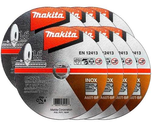 Disco De Corte Inox 180mm B-12267 Com 10un. Makita