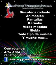 Discoteca Rodante Fiestas,eventos,bodas,15 Años,promociones