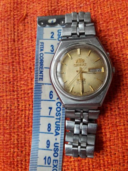 Relógio Antigo Orient Automático Raro
