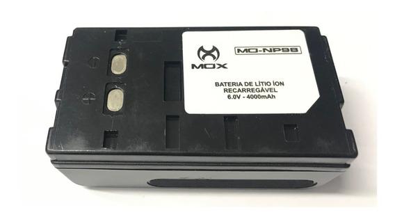 Bateria Mox P/ Filmadora Mo-np98 6.0v-4000mah