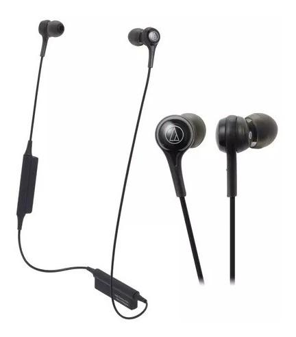 Fone Audio-technica Bluetooth C/ Microfone Ath-ck200btbk