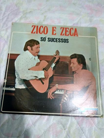 Lp Zico E Zeca