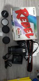 Câmera Canon T5 + Lente 18-55 + Filtro Uv
