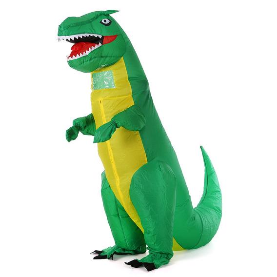 Adultos Dinosaurio Verde Trajes De Disfraces Inflables Blow