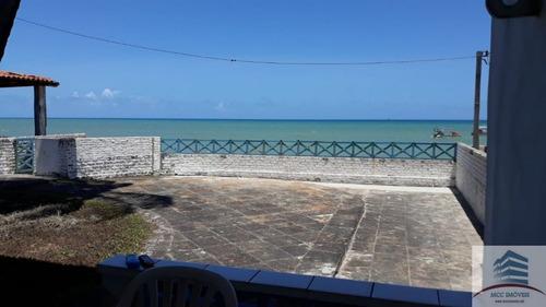 Casa De Praia Beira Mar A Venda Em Maracajaú