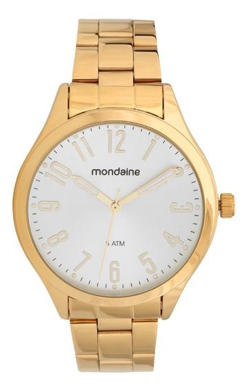 Relógio Mondaine Dourado Feminino 76588lpmvde1
