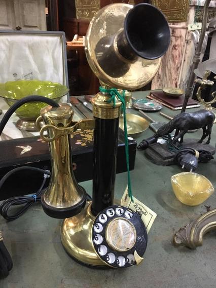 Teléfono Candelero Tel - Antig La Rueda _ L R