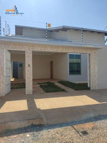 Imagem 1 de 17 de Casa Com 3 Dormitórios À Venda, 115 M² Por R$ 315.000,00 - Residencial Vale Do Sol - Anápolis/go - Ca1954