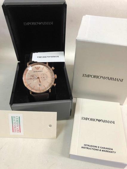 Relógio Emporio Armani Ar11106 Com Caixa E Garantia Ea Novo