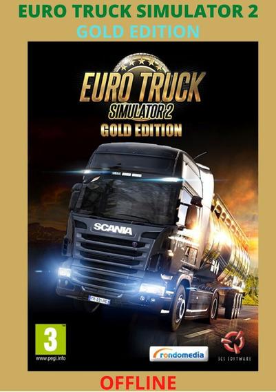 Euro Truck Simulator 2 Gold - Pc - Mídia Digital