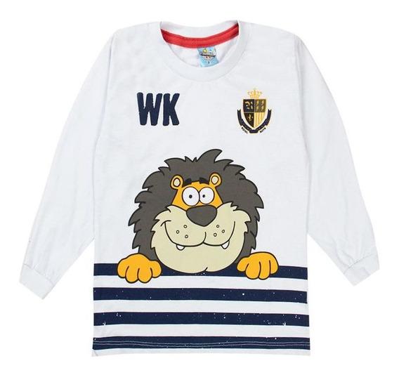 5 Camiseta Blusa Masculina Infantil Malha Algodão Atacado