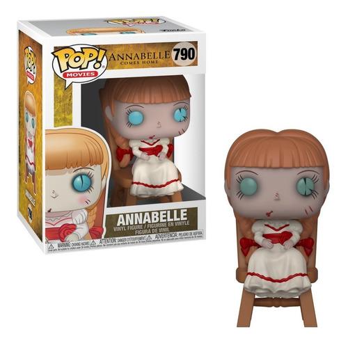 Imagem 1 de 3 de Funko Pop Movies Annabelle Comes Home Na Cadeira # 790