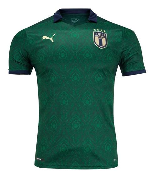 Camisa Itália Verde 2019 - 2020 Original