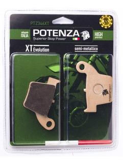 Pastilha De Freio Potenza Crf450 Crf250 Ptz346xt