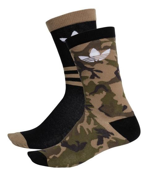 Medias adidas Originals Camouflage Crew X 2 Unisex