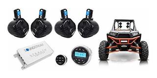 Rockville Bluetooth Receiver+4) 6.5 P/wer Parlantes+4-c ©
