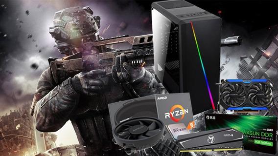 Pc Gamer Ryzen 5 2600g Gtx960 16gbram 480gb 80plus