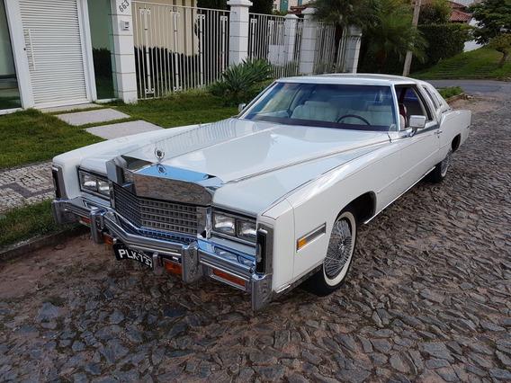 Cadillac Eldorado Biarritz 1978 Não É Lincoln Galaxie Impala