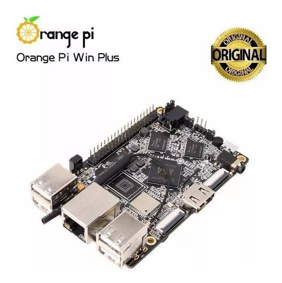 Orange Pi Pc Win Plus + Fonte + Case + Cartão Sd C10 - 16gb
