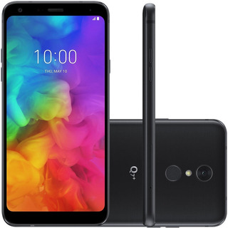 Smartphone Lg Q7 Plus Q610ba 64gb Dual 16mp Preto Vitrine 2