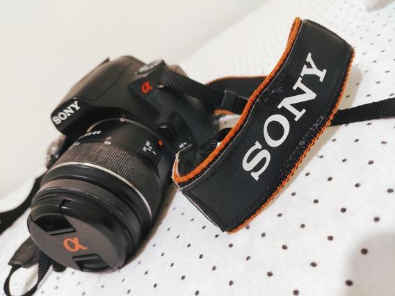 Troco Câmera Sony Alpha 390 Por Videogame