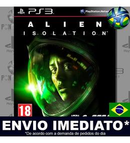 Ps3 Alien Isolation Psn - Jogo Dublado Pt Br | Envio Agora