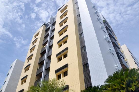 Apartamento, 102m², 3 Quartos, 1 Suíte, 2 Vagas, Ponta Verde, Maceió, Al. - Wma1347