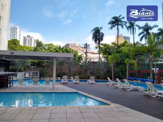 Lindo Apartamento Com 2 Dormitórios Para Alugar, 83 M² Por R$ 1.500/mês - Centro - Guarulhos/sp - Ap3871