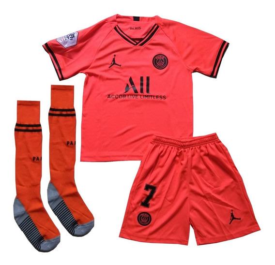 Kit Infantil Juventus Uniforme 1 - Pronta Entrega
