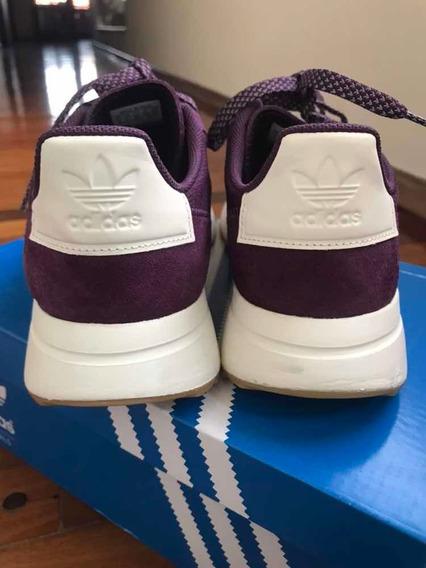 Zapatillas adidas Flb Runner 37 Violetas Traídas De Usa New