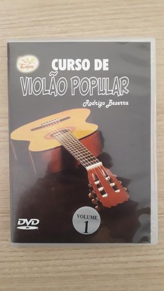 Dvd Video Aula Curso De Violão Popular Edon Rodrigo Bezerra