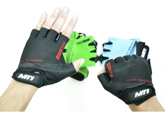 Guante Corto Mti Cross Equipment Azul-xl