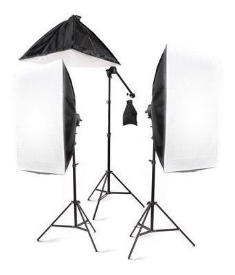 Studiofx 2400 Kit Iluminacion Fotografico Gran