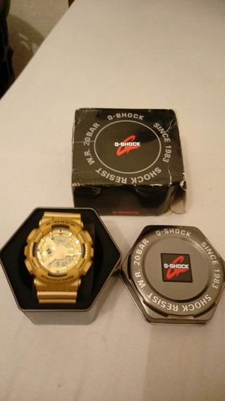 Relógio Cassio G Shoock Ga 110 Dourado
