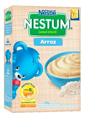 Imagen 1 de 6 de Nestum Arroz Cereal Infantil X 200g Nestle Alimento Niños X1