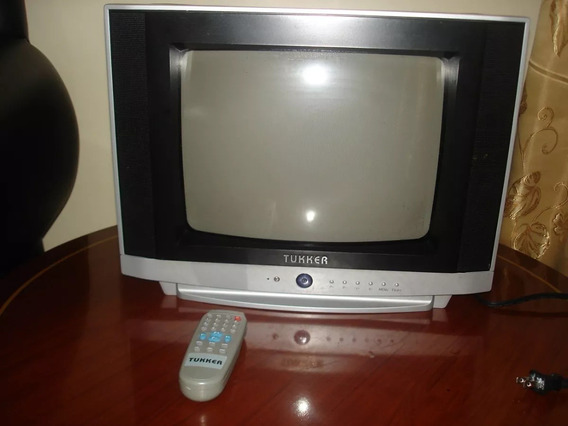 Tv 14 Pulgadas Marca Tukker Sin Control