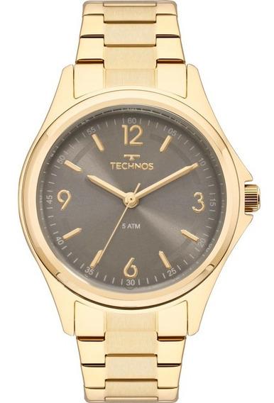 Relógio Technos Feminino Dourado 2035mni/4c C/ Garantia Nf