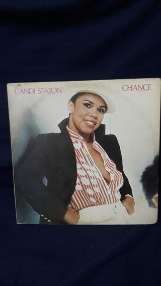 Lp Candi Staton - Chance - Com Encarte .