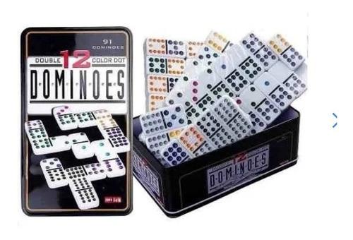 Super Domino Profesional 91 Piezas 12/12 Juega