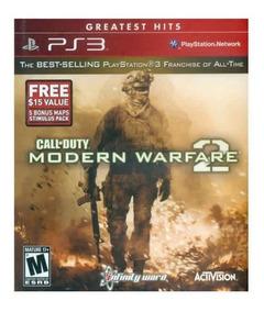 Call Of Duty: Modern Warfare 2 - Ps 3 / Mídia Física