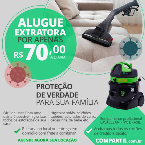Imagem 1 de 1 de Aluguel De Extratora Para Limpeza De Estofados