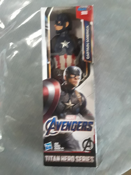 Muñeco Capitan America Avengers Niños