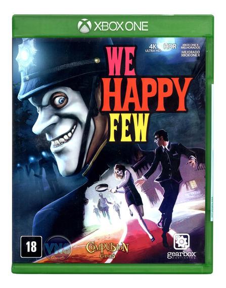 We Happy Few - Xbox One - Novo - Mídia Física - Lacrado