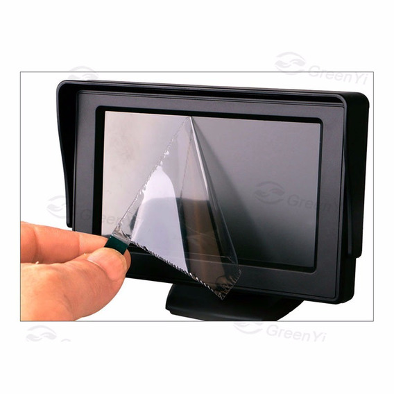 Camera De Ré Tela Lcd 4.3 Pol Colorida Para Estacionamento