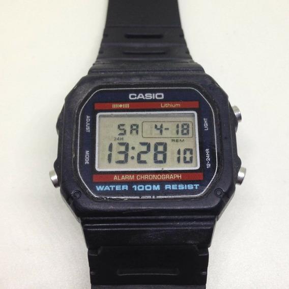 Relógio De Pulso Casio 100m Unissex U04703 Webclock