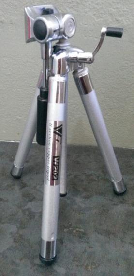 Tripé Camera Wf W202 8 Estagios + Bolsa