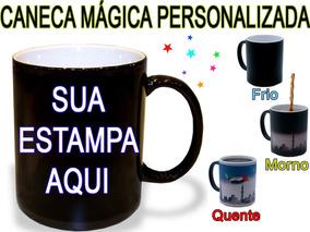 Caneca Mágica Personalizada + Caixinha + Arte Grátis.