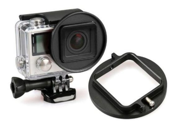 Anel Adaptador Cameras Gopro P/ Filtros Uv E Cpl 58mm