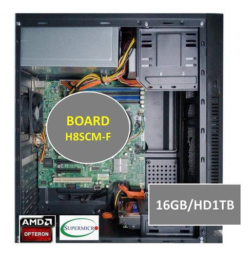 Servidor Supermicro Torre Quadcore 1tb 16gb Virtualização