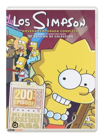 Los Simpson Novena Temporada 9 Serie Dvd